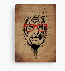 Hipster Canvas Print