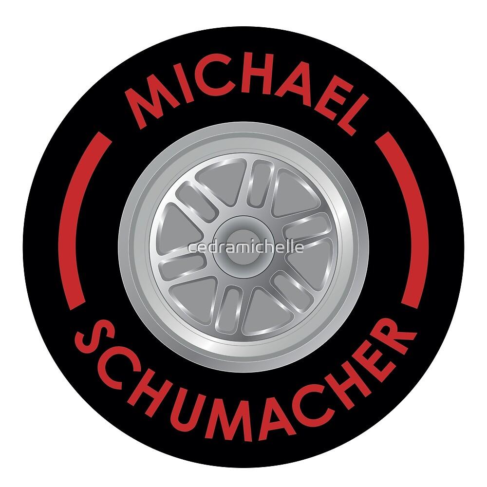 Michael Schumacher Tyre by cedramichelle