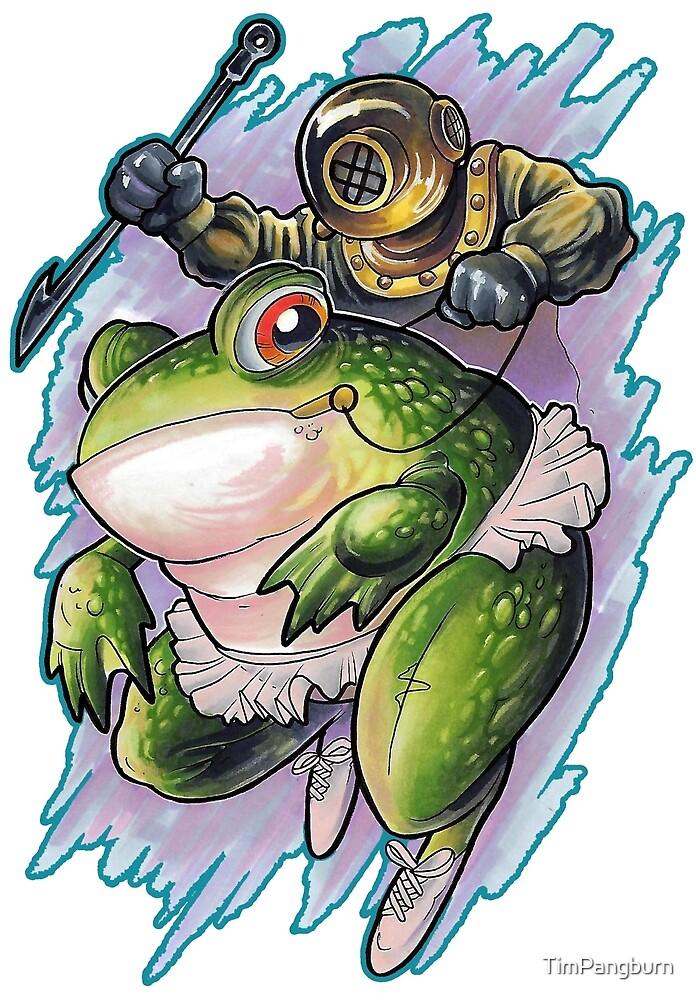 Frog Diver by TimPangburn