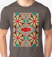 Autumn Flowers Kaleidoscope  T-Shirt