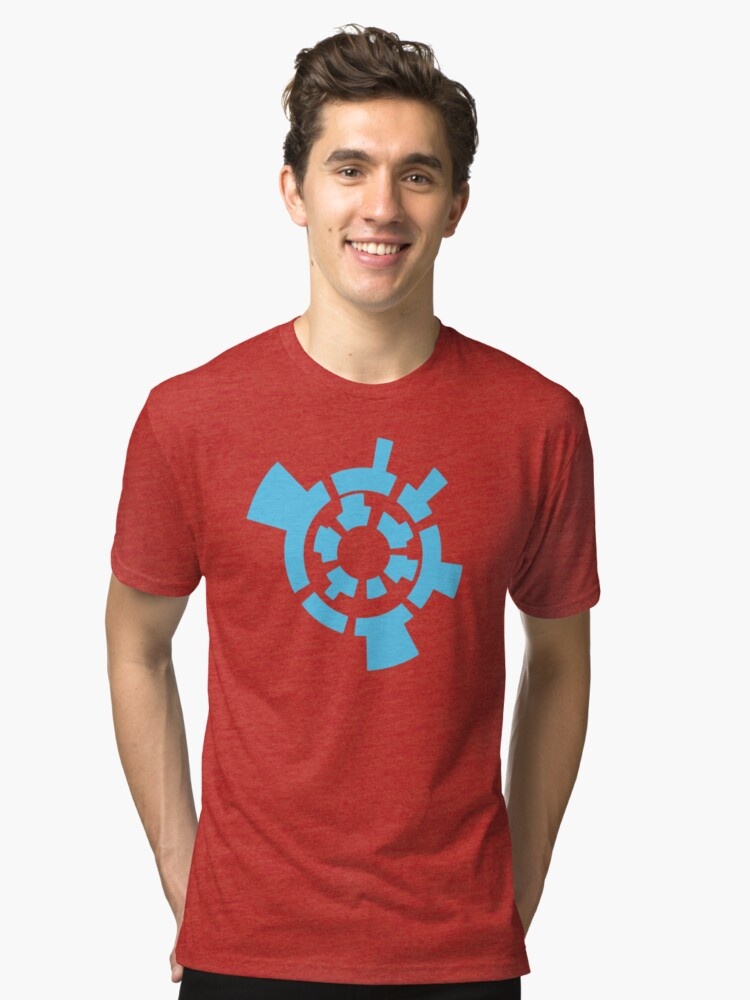 Metroid Prime - Artifacts Graphic Tri-blend T-Shirt Front