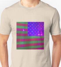 American Flag at Halloween Surreal T-Shirt