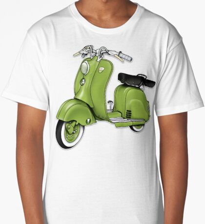 Scooter T-shirts Art: LD 150 - 1955 vintage scooter illustration Long T-Shirt