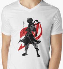Fairy Tail - Natsu Men's V-Neck T-Shirt