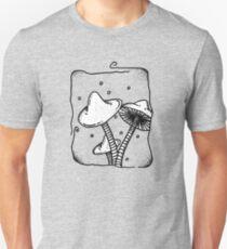 White Cap Mushroom T-Shirt