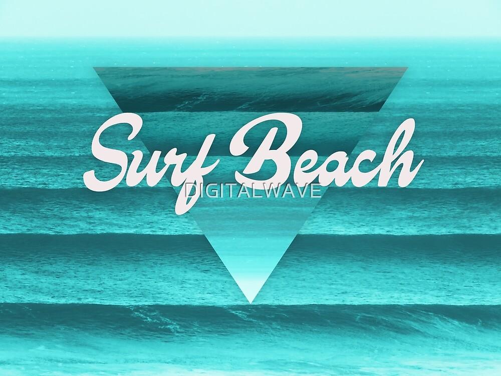 Geometric Surf Beach by DIGITALWAVE