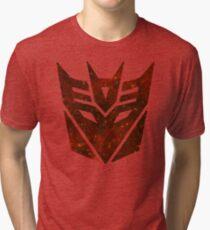 Red Galaxy - Decepticon Tri-blend T-Shirt