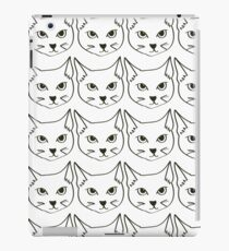 cat pattern iPad Case/Skin