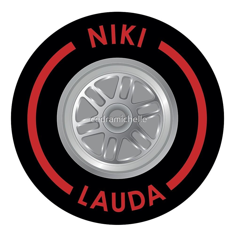 Niki Lauda Tyre by cedramichelle