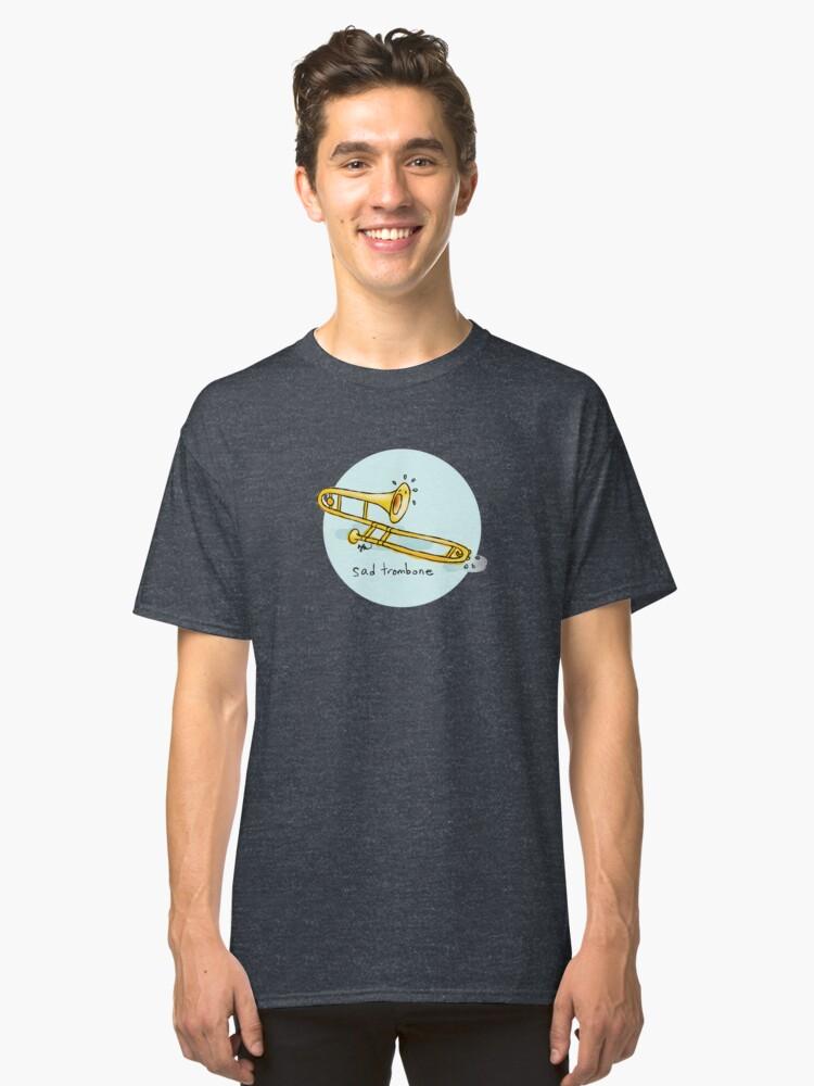 Sad Trombone Classic T-Shirt Front