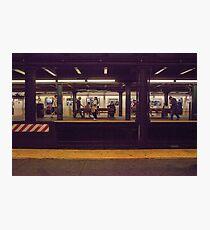 New York Subway Photographic Print