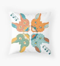 Austin, Texas: Bat City Throw Pillow