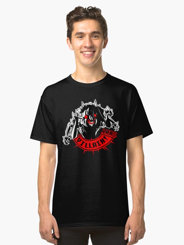 100% Bug Villain Classic T-Shirt Front