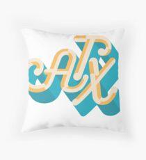 Austin Texas ATX Throw Pillow