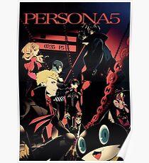 Persona 5 Phantom Thief  Poster