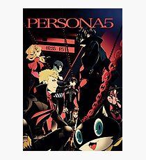 Persona 5 Phantom Thief  Photographic Print