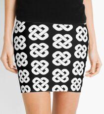 Knot (White) Mini Skirt