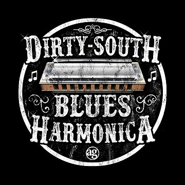 Adam Gussow's Modern Blues Harmonica - Dirty South Blues Harmonica by GussowMBH