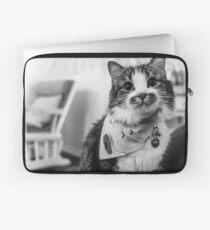 Cat Mustache Laptop Sleeve