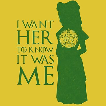 I want her to know it was me by geekyshop