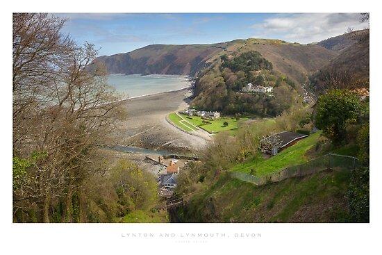 Lynton & Lynmouth, North Devon by Andrew Roland