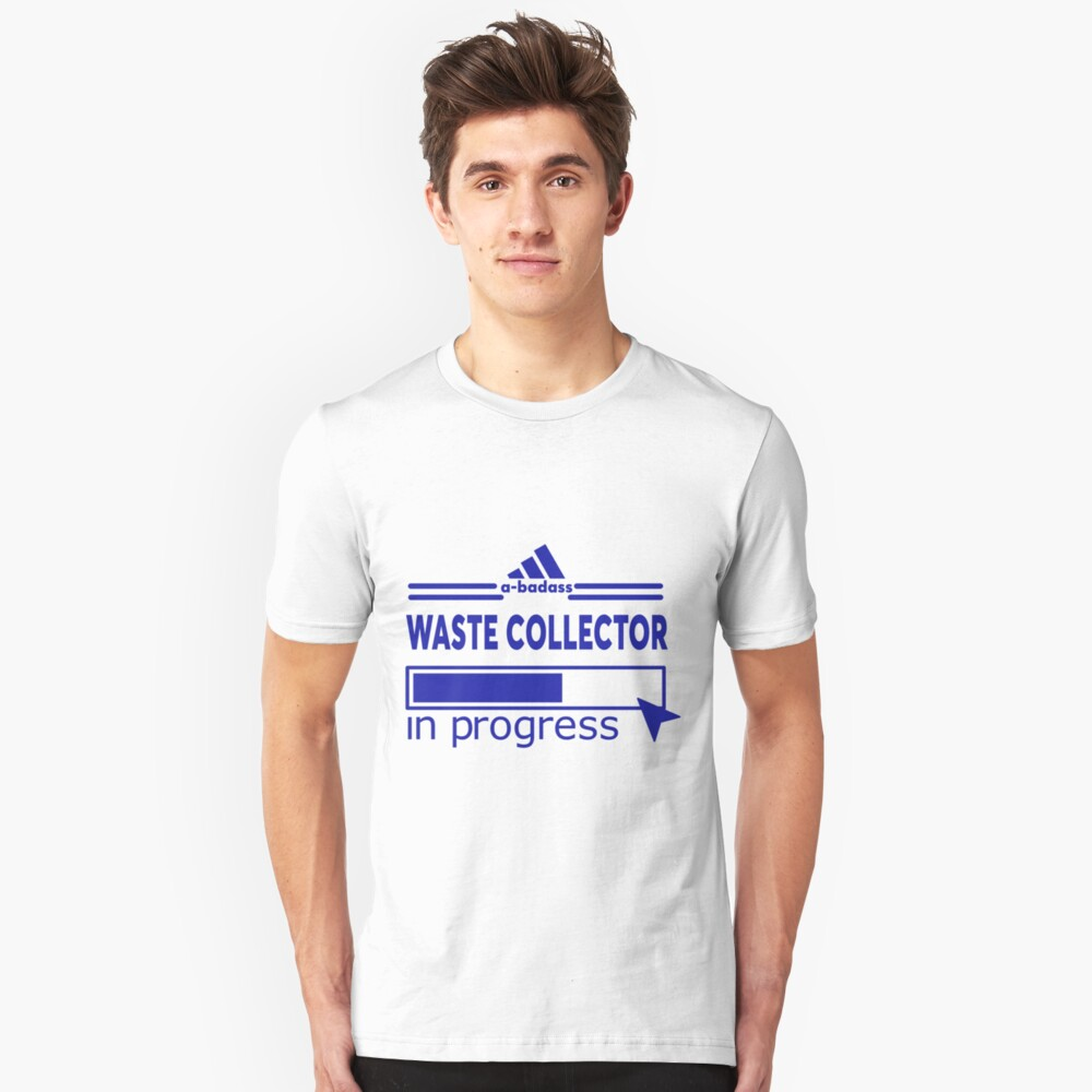 WASTE COLLECTOR Unisex T-Shirt Front