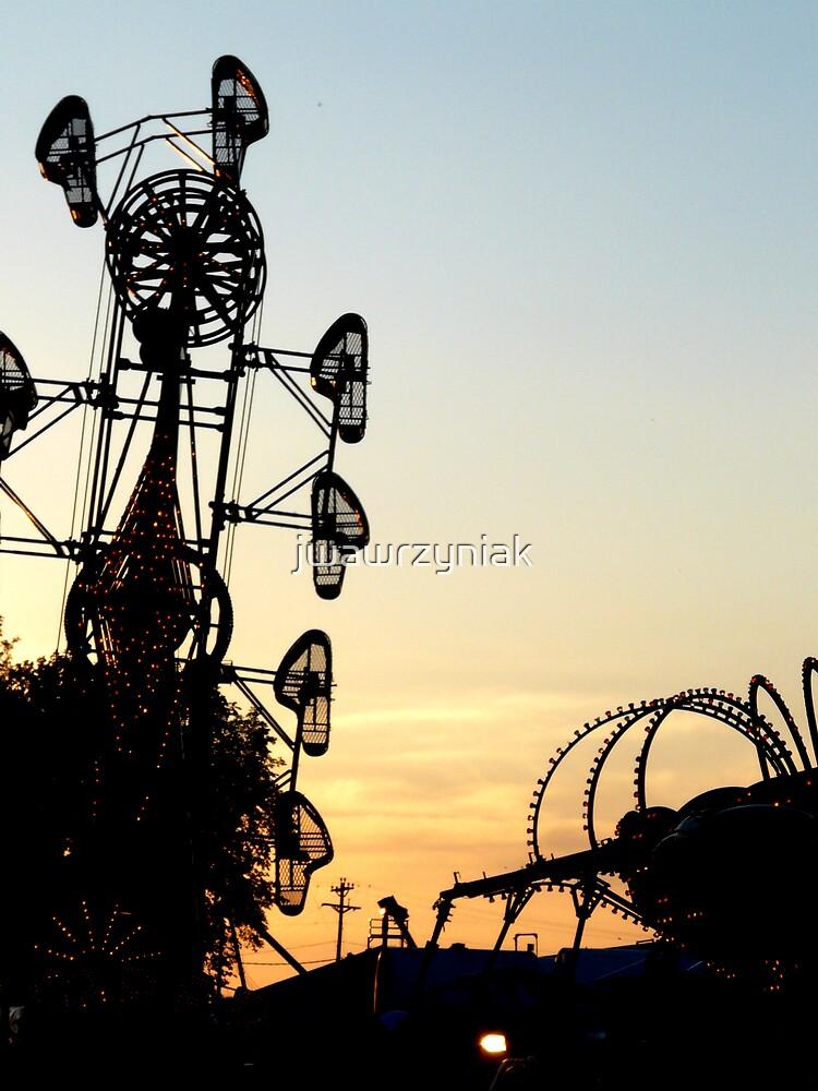 Sunset Rides by jwawrzyniak