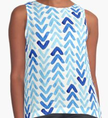 Abstract Watercolour Arrows Contrast Tank