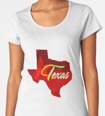 Texas - Watercolor Women's Premium T-Shirt