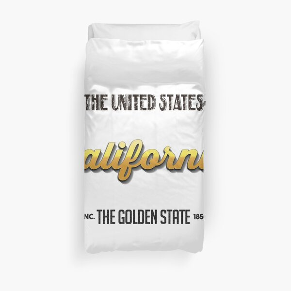 Vintage California Duvet Cover