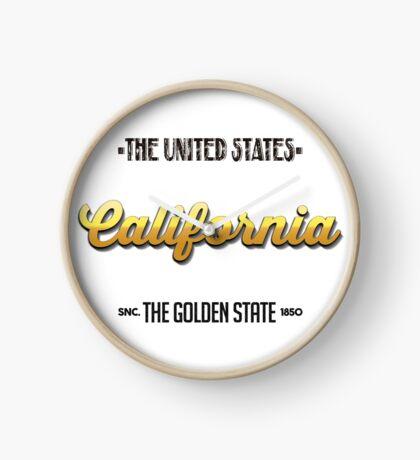 Vintage California Clock