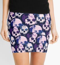 Skull City  Mini Skirt