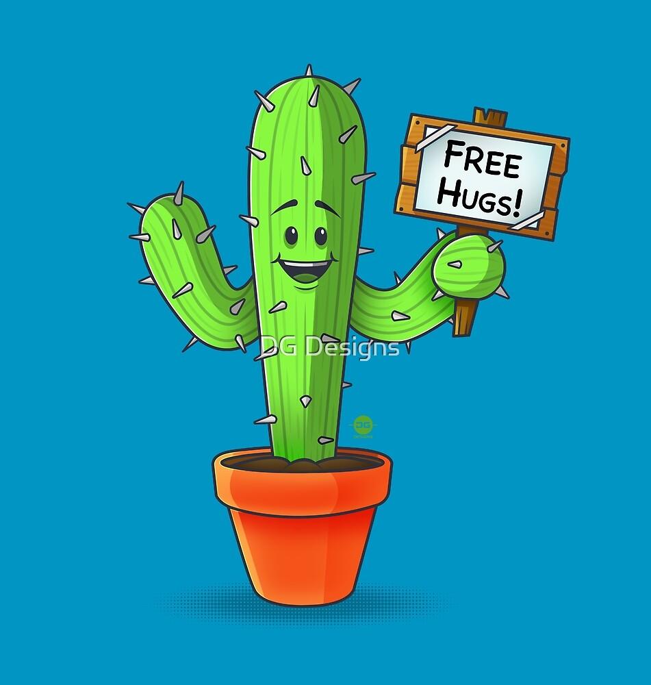 Cactus Free Hugs  by DG Designs