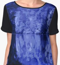 The Night, and the Silent Water Women's Chiffon Top