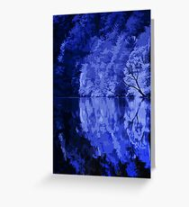 The Night, and the Silent Water Greeting Card