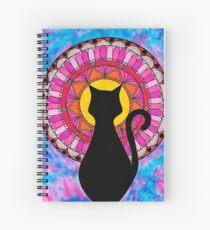 Cuaderno de espiral Gato mandala