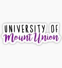 University of Mount Union  Sticker