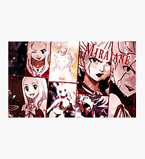 "Mirajane Fairy Tail"" Collage Photographic Print"