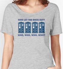 Doctor Who - Who Let The Docs Out? Women's Relaxed Fit T-Shirt