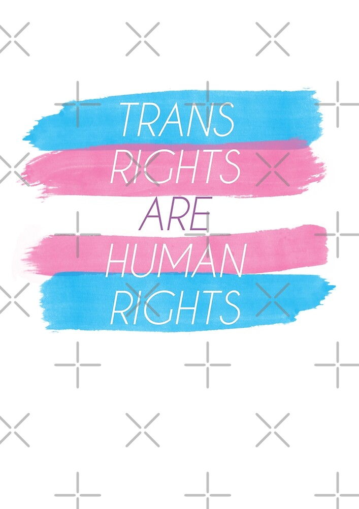 Trans Rights Are Human Rights by SadCaptain