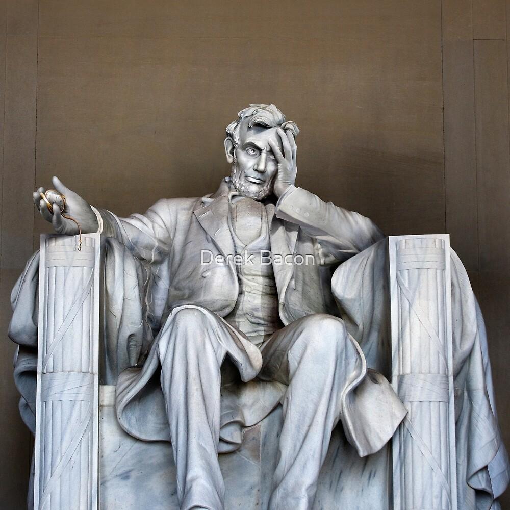Lincoln's despair by Derek Bacon