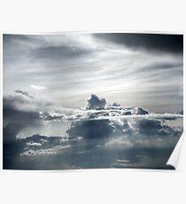 Cloud castle Poster