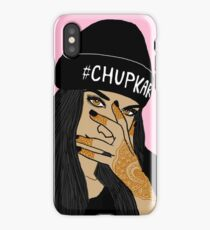Chup kar Beanie Girl  iPhone Case