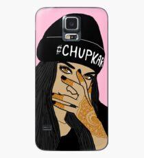 Chup kar Beanie Girl  Case/Skin for Samsung Galaxy