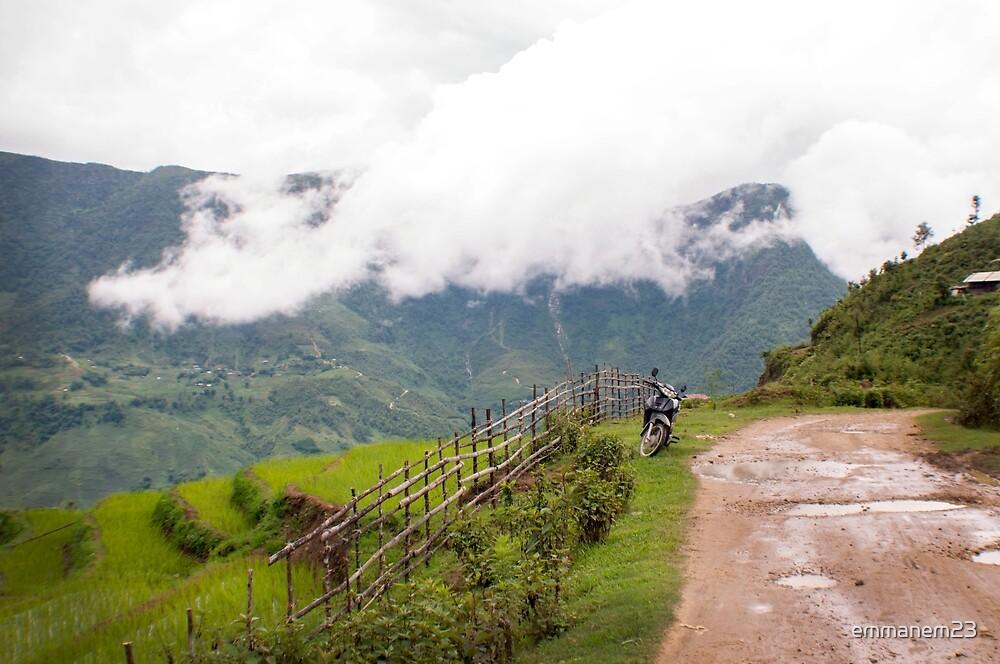 Mountain Pass Rice Terrace by emmanem23