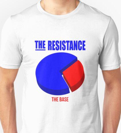 Resistance 3D Pie Chart T-Shirt