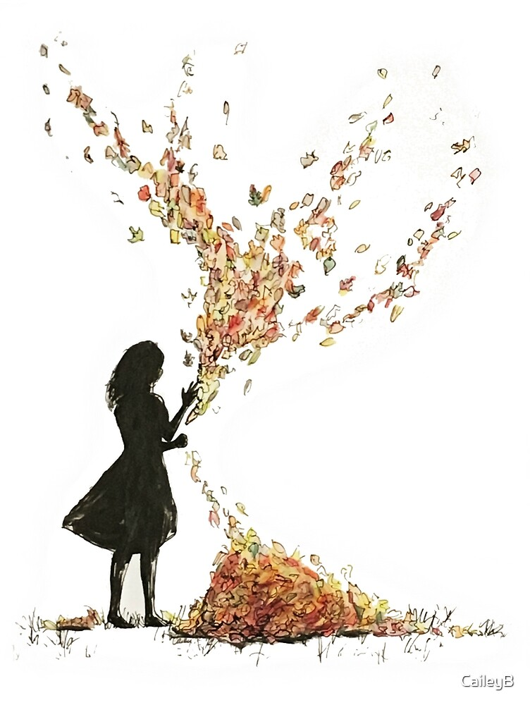 Autumn Leaves Girl by CaileyB