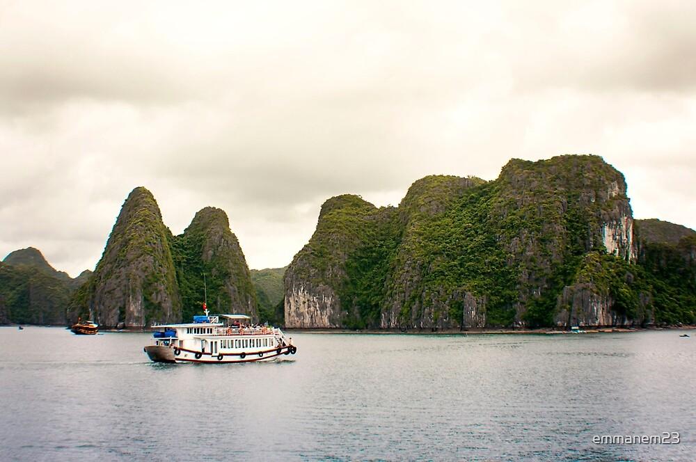 Ferry Through Vietnam by emmanem23