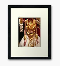 Asian Traditional Culture - wedding Framed Print