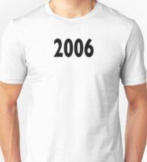 2006 Design Slim Fit T-Shirt